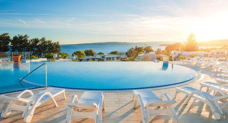 Campingplatz Krk in Kroatien