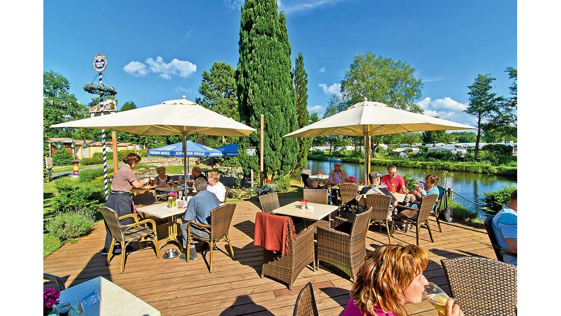 Campingplatz Lüneburger Heide mit platzeigenem Restaurant