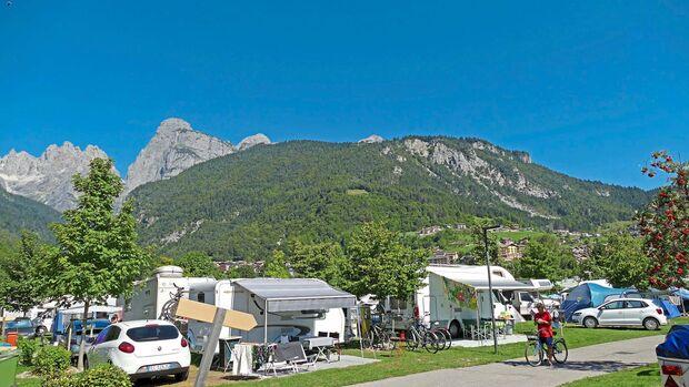 Campingplatz Molveno