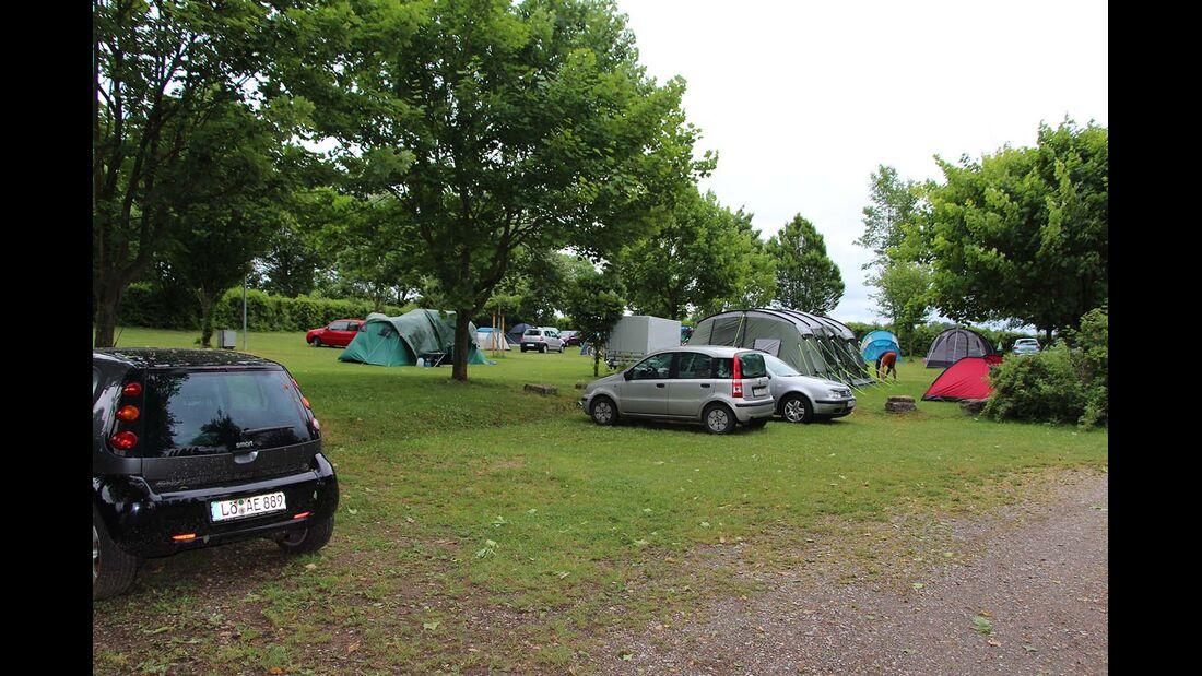 Campingplatz Schloss Kirchberg