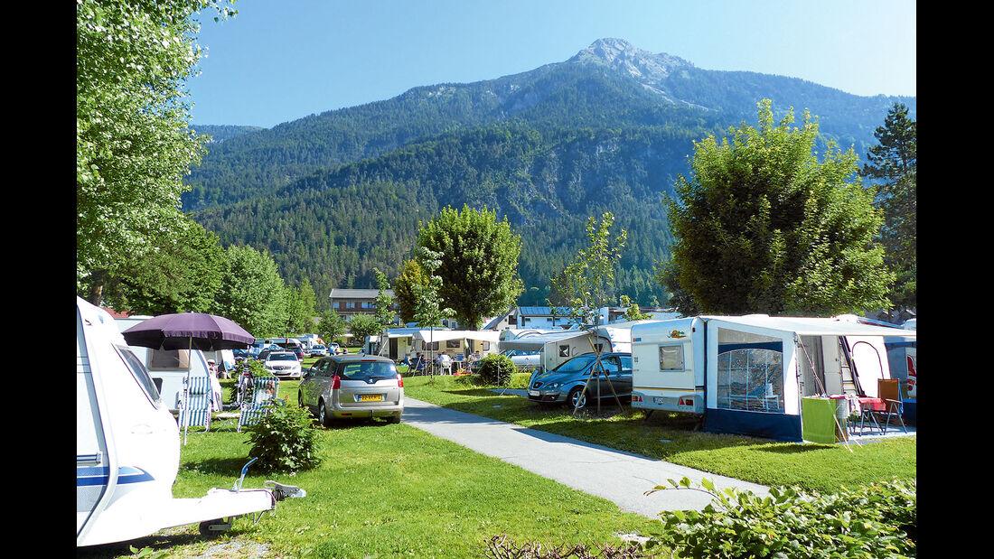 Campingplatz Schluga Camping Hermagor