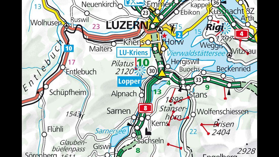 Campingplatz Seefeld Karte