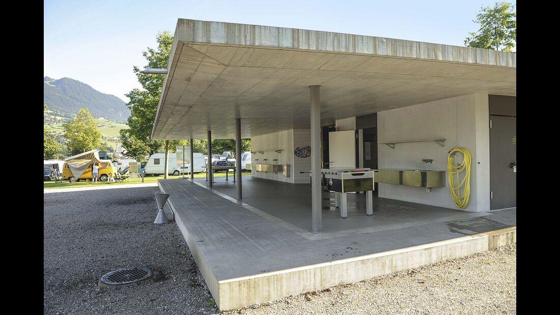 Campingplatz Seefeld Sanitäranlagen