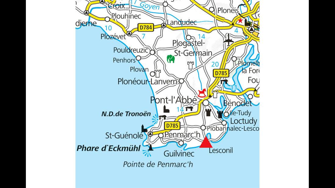 Campingplatz-Tipp: Frankreich