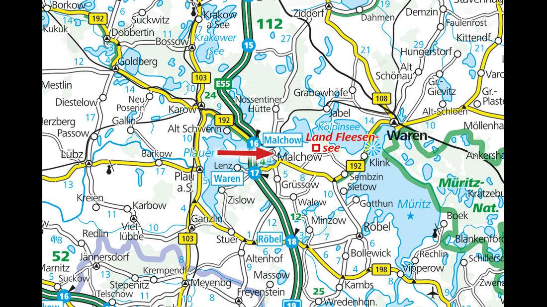 Campingplatz-Tipp Malchow in Mecklenburg Vorpommern