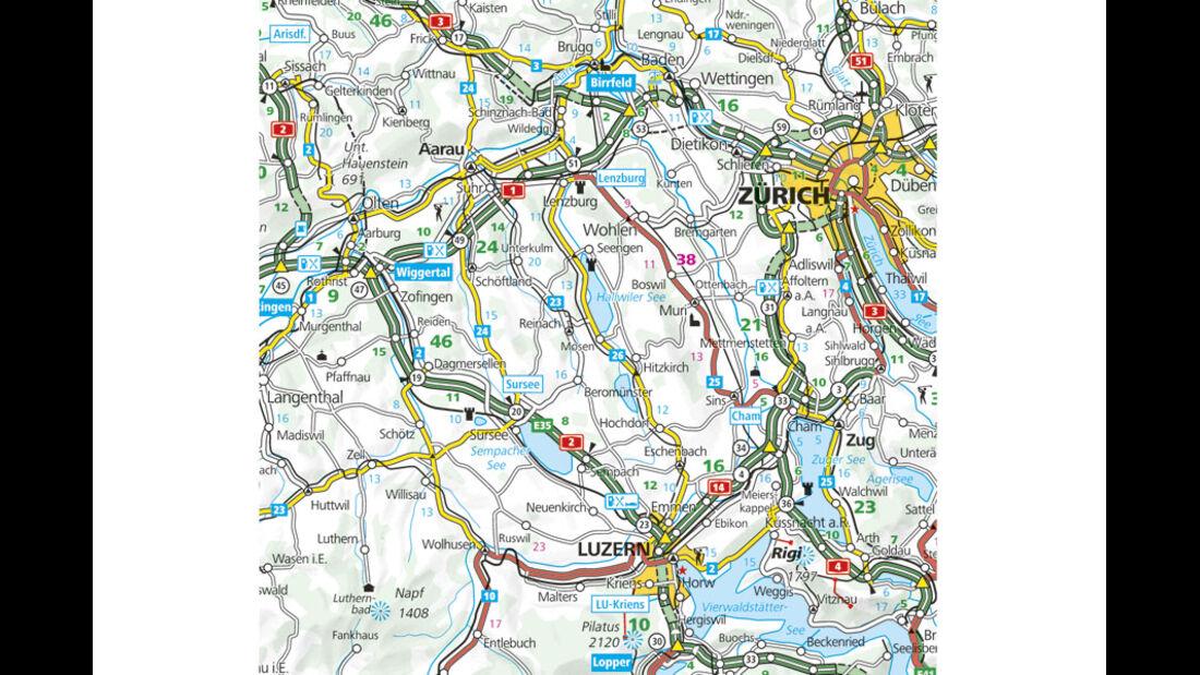 Campingplatz-Tipp Schweiz: Camping Seeblick Mosen