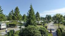 Campingplatz auf dem Simpel