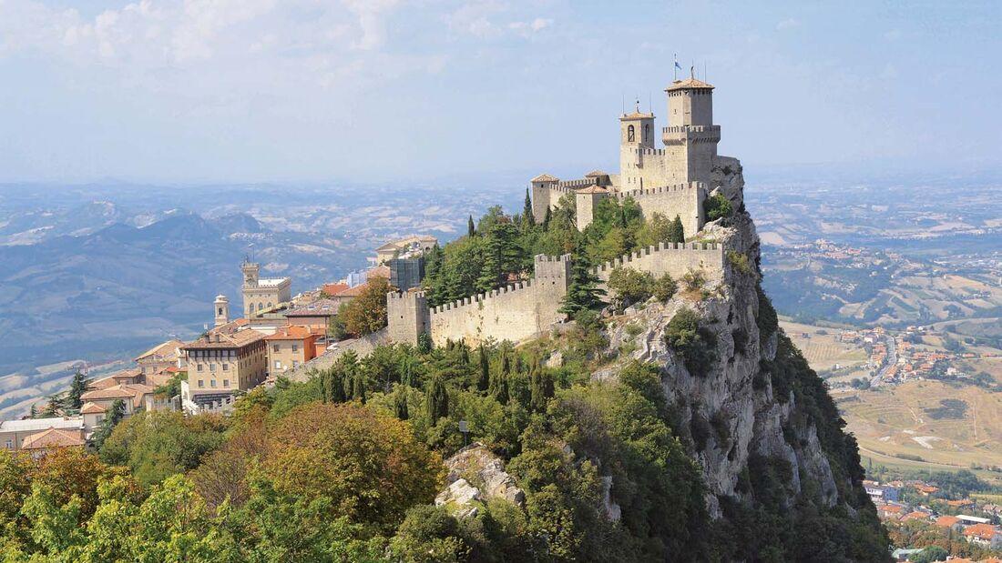 Campingplatz des Monats Perticara : San Marino