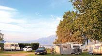 Campingplatz vorderer Teil