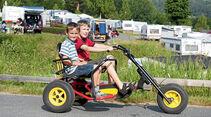 Campingplatze mit viel Raum für Kinder