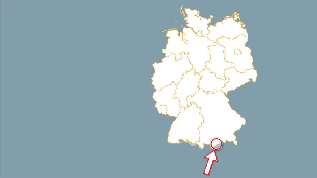 Campingreise Oberbayern