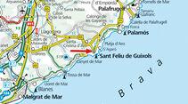Campinplatz: Archiv, Sant Feliu de Guíxols, KarteArchiv, Le Muy, Karte
