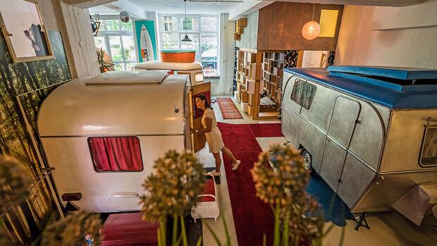 Caravan-Hotel Hüttenpalast
