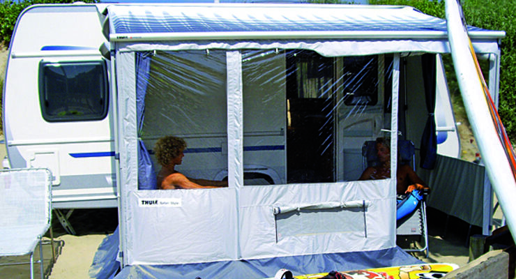 Neue Caravan Markise Safari Style Caravaning