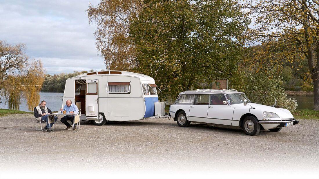Caravan Notin Résidence und Citroën ID Break