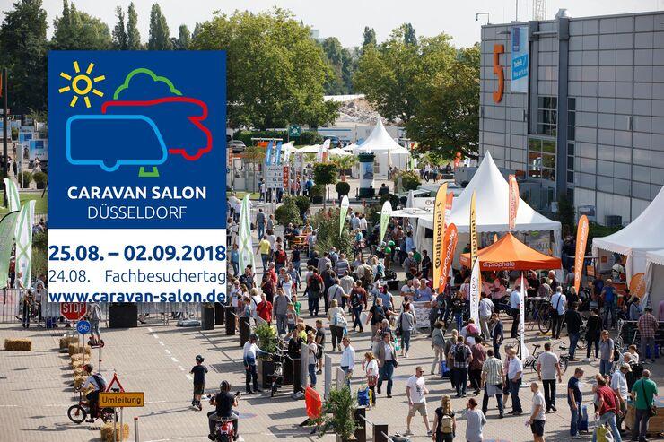 Caravan Salon Düsseldorf 2018 Caravaning