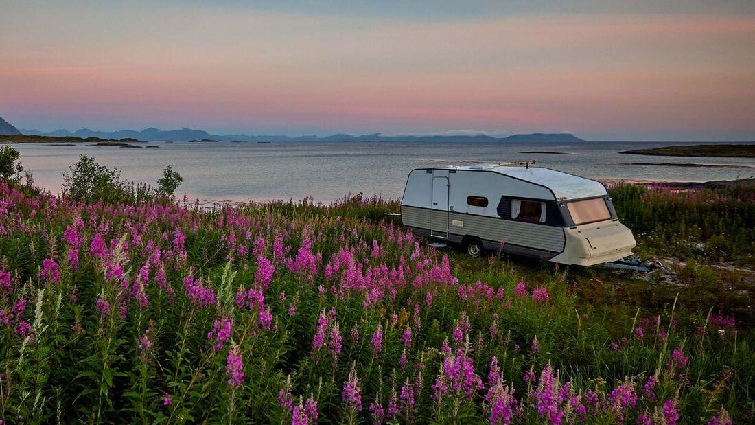 Caravan, Sonnenuntergang