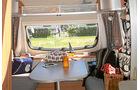 Caravan mit Schlafdach