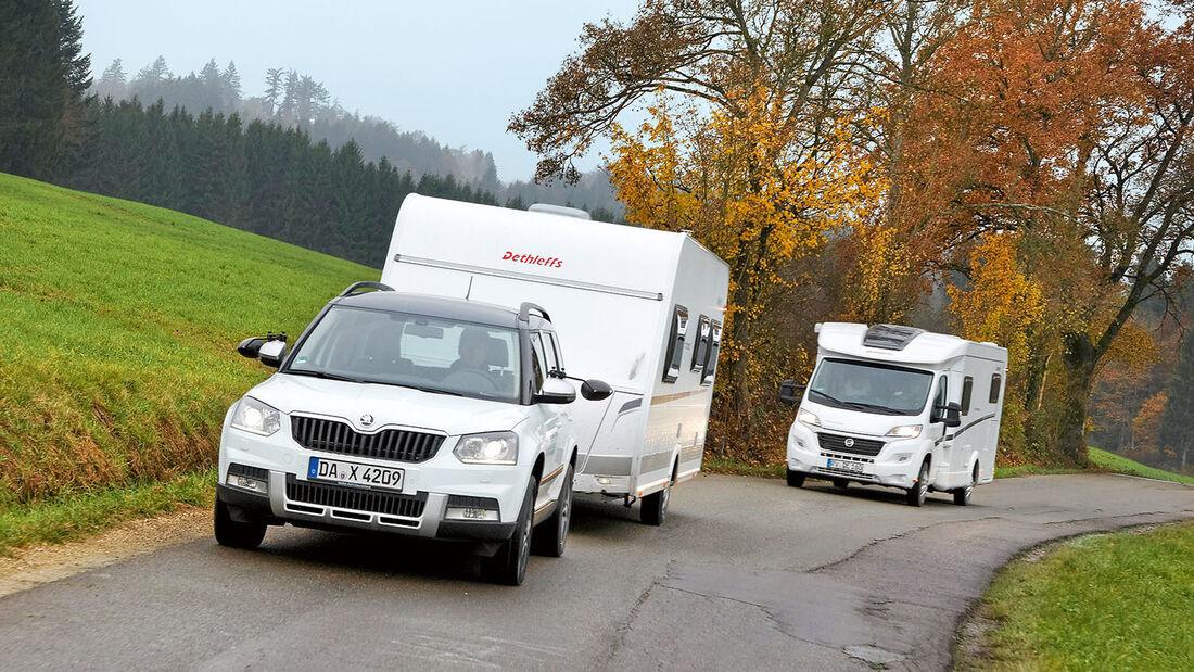 Caravan oder Reisemobil