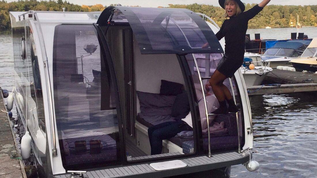 Caravanboat