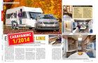 Caravaning 1/2014 Hobby De Luxe 560 FFE