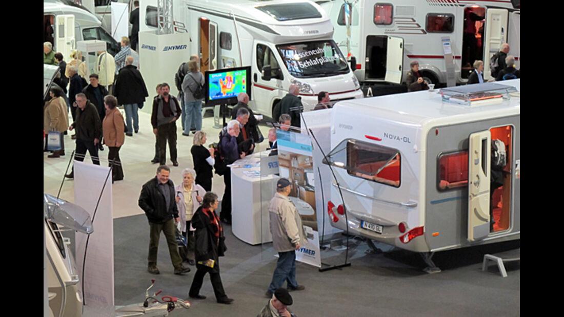Caravaning Messe  Hannover ABF reisemobil wohnmobil caravan wohnwagen