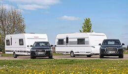 Caravans Dethleffs Nomad 540 ER und Tabbert Vivaldi 560 E