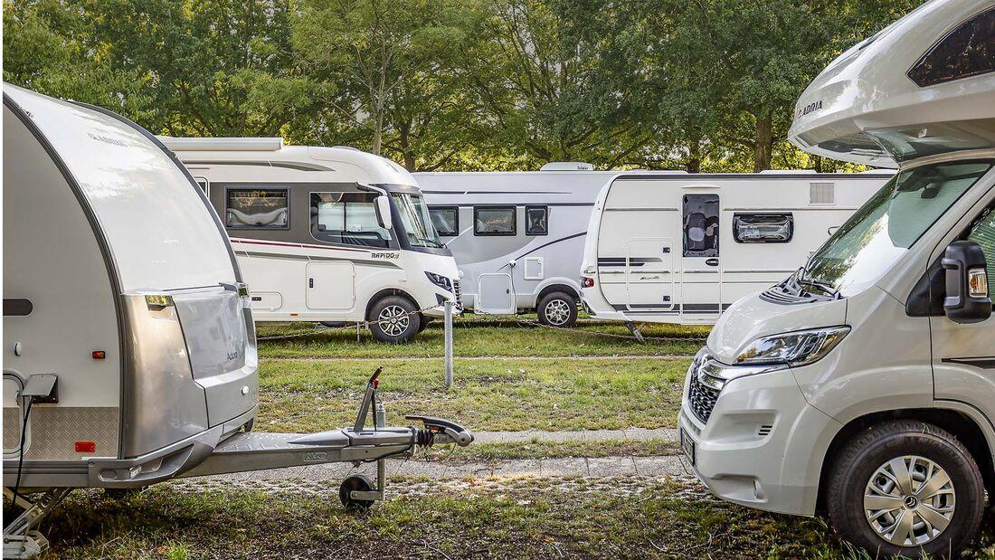 Caravans mieten