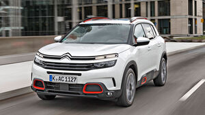 Citroen C5 Aircross, Test, ams052019