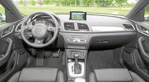 Cockpit beim Audi Q3