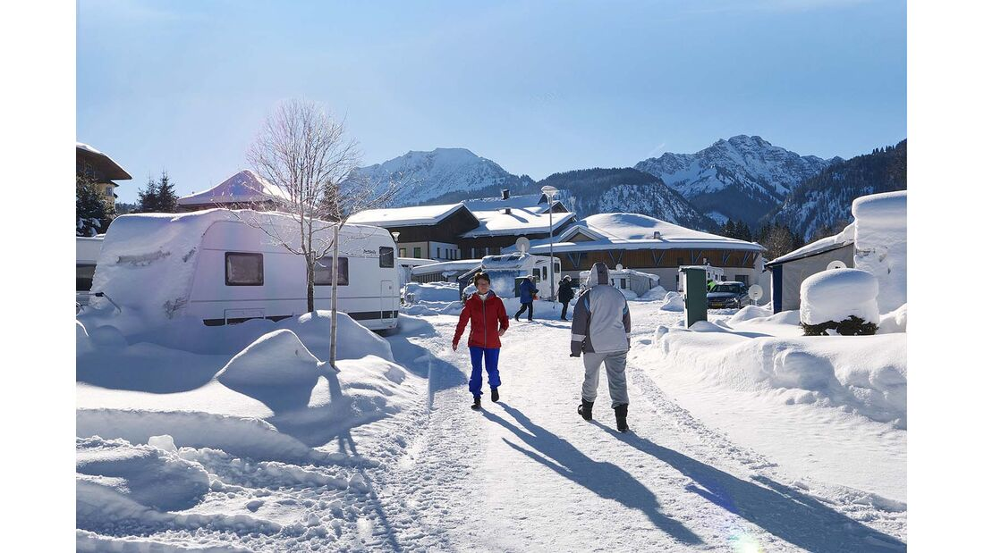 Comfort Camp Grän (Winter)
