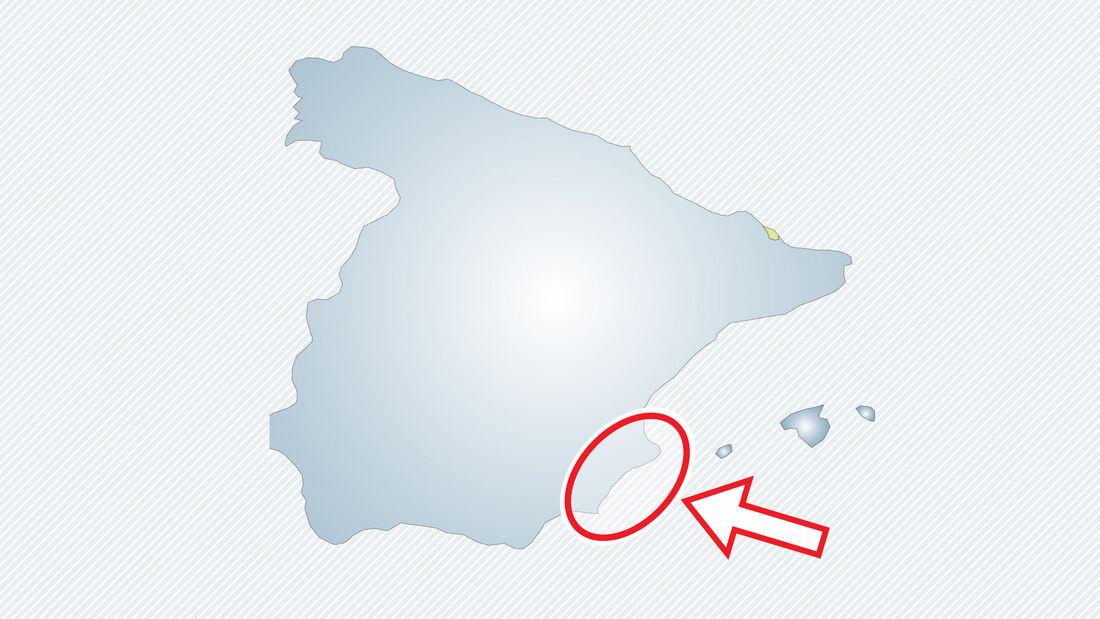 Costa Blanca in Spanien