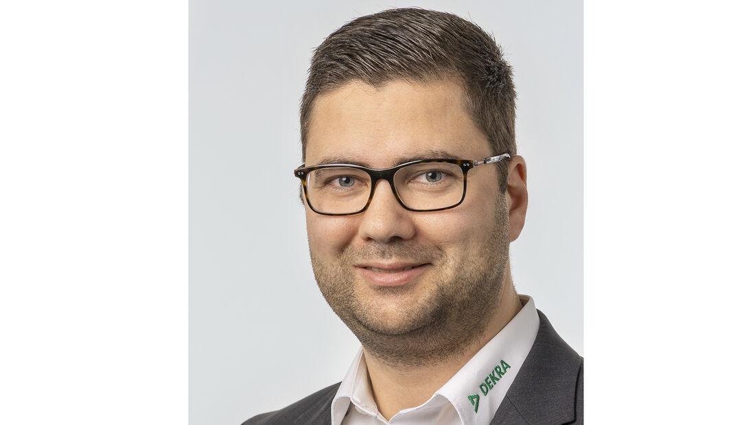 DEKRA-Experte Benjamin Zenn