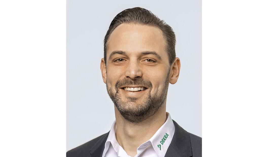 DEKRA-Experte Daniel Kilgus