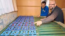 DIY maßgefertigte Kaltschaummatratze