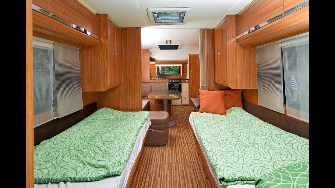 Dachhaube im Caravan Adria