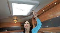 Dachhaubenüberprüfung beim Hobby De Luxe