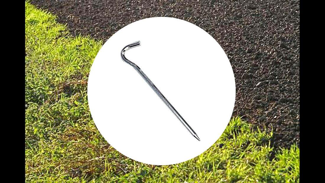 Das 8-Kant-Profil macht den Dural-Nagel stabiler als die ähnlich aussehenden Standardheringe.