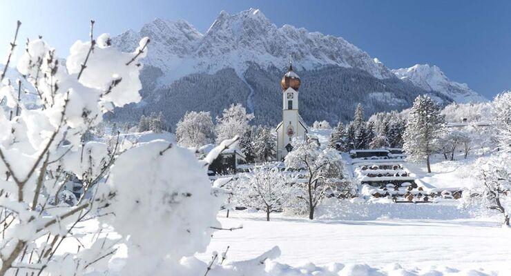 Das Camping Resort Zugspitze und Camping Erlebnis Zugspitze laden ein zum stimmungsvollen Weihnachts- und Silvesterprogramm.