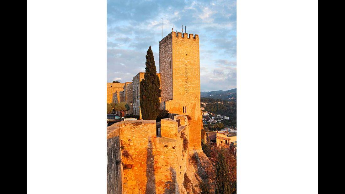 Das Castell de la Suda wurde einst von den Mauren erbaut