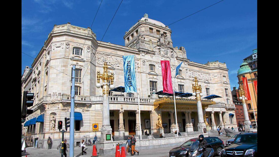 Das Kungliga Dramatiska Teatern zählt zu den wichtigsten Häusern der schwedischen Theaterszene.