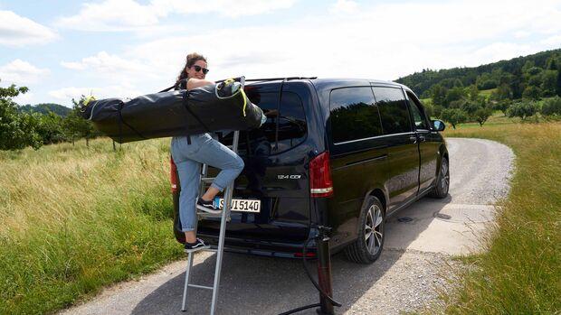 Decathlon Dachzelt Van 500 Fresh & Black