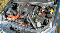 Der Bi-Turbodiesel harmoniert gut mit der Automatik beim Isuzu D-Max Double Cab