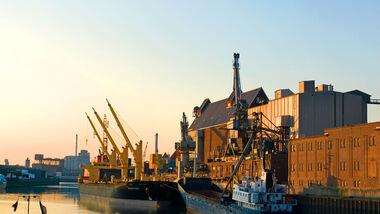 Der Bremer Hafen