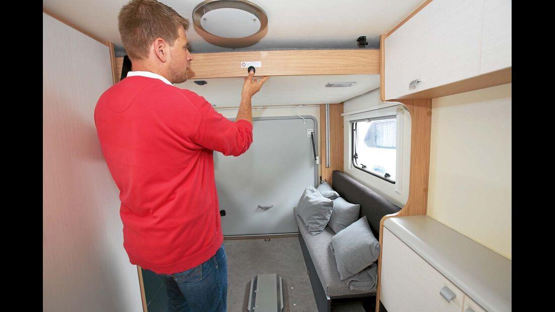 Der Deseo Transport nutzt seine Quaderform, um Stau- und Wohnraum zu vereinigen.