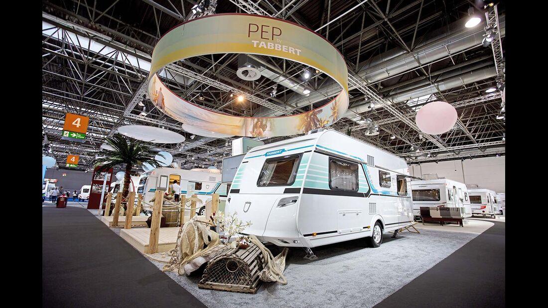 Der Tabbert Pep ist zwar schrill, erfüllt aber auch hohe Ansprüche an Qualität, Ausstattung und Bordtechnik.