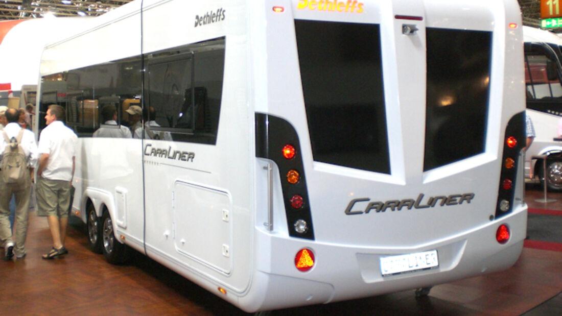 Dethleffs Caraliner Wohnwagen Luxus Caravan Salon 2009