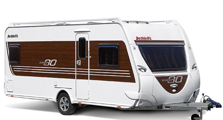 Dethleffs, eighty, caravan, wohnwagen