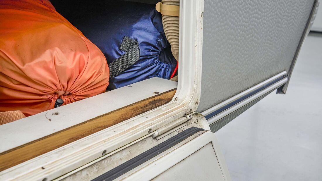 Dichtigkeitsprüfung Caravan