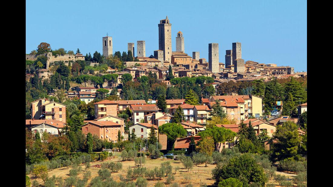 Die Geschlechtertürme von San Gimignano